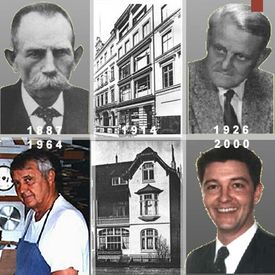 Former Managing Director's of the casemaker Ludwig - History